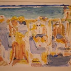 Beach Scene, St. Barths – 2013