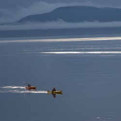 Kayakers, Penobscot Bay, Maine – 2016